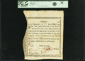 Colonial Notes:Massachusetts, State of Massachusetts Bay - (Act of December 6, 1776) Bounty NoteTen Pounds Mar. 1, 1777 Anderson-Smythe MA-6. PCGS Very Fin...