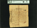 Colonial Notes:Massachusetts, Colony of the Massachusetts Bay - Provincial Act of May 3, 1775 6%Loan due June 1, 1777. 5 Pounds 4 Shillings Augt. 10, 1775 ...