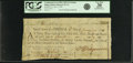 "Colonial Notes:Continental Congress Issues, United States of America - Continental Loan Office in the State of""Rhode Island"" Exchange for $18/90 Livres Tournois Third Bi..."
