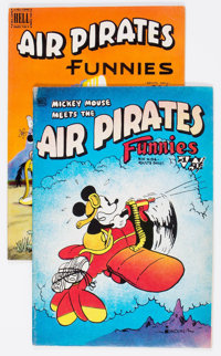 Air Pirates Funnies #1 and 2 Group (Hell Comics Group, 1971) Condition: Average FN.... (Total: 2 Comic Books)