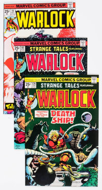 Warlock Group of 7 (Marvel, 1975-76) Condition: Average NM-.... (Total: 7 Comic Books)