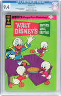 Bronze Age (1970-1979):Cartoon Character, Walt Disney's Comics and Stories #411 File Copy (Gold Key, 1974)CGC NM 9.4 Off-white to white pages....