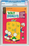 Bronze Age (1970-1979):Cartoon Character, Walt Disney's Comics and Stories #360 (Gold Key, 1970) CGC NM 9.4Off-white to white pages....