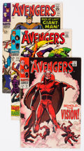 Silver Age (1956-1969):Superhero, The Avengers Group of 69 (Marvel, 1965-71) Condition: Average VG/FN.... (Total: 69 Comic Books)