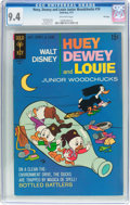 Bronze Age (1970-1979):Cartoon Character, Huey, Dewey, and Louie Junior Woodchucks #10 File Copy (Gold Key,1971) CGC NM 9.4 Off-white pages....