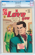 Silver Age (1956-1969):Romance, I Love You #72 File Copy (Charlton, 1968) CGC VF+ 8.5 Off-white to white pages....
