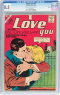 Silver Age (1956-1969):Romance, I Love You #50 File Copy (Charlton, 1964) CGC VF+ 8.5 Off-white to white pages....