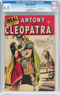 Ideal #1 Antony and Cleopatra (Timely, 1948) CGC FN+ 6.5 Cream to off-white pages