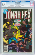 Bronze Age (1970-1979):Western, Jonah Hex #15 (DC, 1978) CGC NM 9.4 Off-white to white pages....