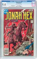 Bronze Age (1970-1979):Western, Jonah Hex #14 (DC, 1978) CGC NM 9.4 Off-white to white pages....