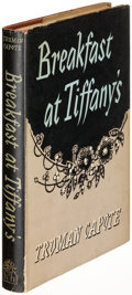 Books:Fiction, Truman Capote. Breakfast at Tiffany's. London: [1958]. FirstEnglish edition....