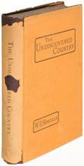 Books:Literature Pre-1900, William Dean Howells. The Undiscovered Country. Boston:1880. First edition....