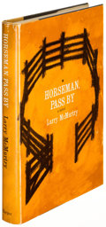 Books:Literature 1900-up, Larry McMurtry. Horseman, Pass By. New York: [1961]. Firstedition of the author's first book, inscribed....