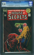 Bronze Age (1970-1979):Horror, House of Secrets #98 (DC, 1972) CGC NM 9.4 Off-white to whitepages.
