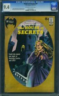 Bronze Age (1970-1979):Horror, House of Secrets #89 (DC, 1971) CGC NM 9.4 Off-white to whitepages.