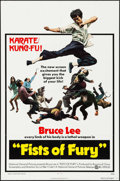 "Movie Posters:Action, The Big Boss (National General, 1973). One Sheet (27"" X 41"").Action. US Title: Fists of Fury.. ..."