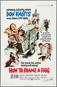 """How to Frame a Figg (Universal, 1971). Autographed One Sheet (27"""" X 41""""). Comedy"""