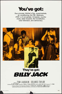 "Billy Jack (Warner Brothers, 1971). One Sheet (27"" X 41""). Action"