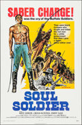 "Movie Posters:Western, Soul Soldier & Other Lot (Fanfare, 1972). One Sheets (2) (27"" X 41""). Western.. ... (Total: 2 Items)"