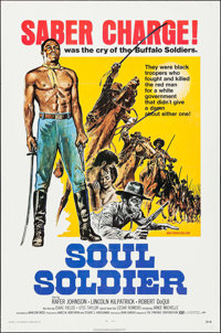 """Soul Soldier & Other Lot (Fanfare, 1972). One Sheets (2) (27"""" X 41""""). Western. ... (Total: 2 Items)"""