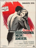 """Movie Posters:Foreign, Hiroshima, mon amour (Cocinor, 1959). French Grande (47"""" X 62""""). Foreign.. ..."""