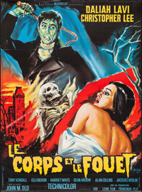 """The Whip and the Body (Les Films Marbeuf, 1965). French Grande (46.25"""" X 62.5""""). Horror"""