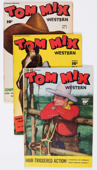 Tom Mix Western #2-10 Group (Fawcett Publications, 1948) Condition: Average FN+.... (Total: 9 Comic Books)