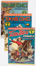 Golden Age (1938-1955):Western, Tom Mix Comics #1-12 Group (Ralston-Purina Co., 1940-42) Condition:Average VG.... (Total: 12 Comic Books)