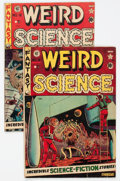 Golden Age (1938-1955):Science Fiction, Weird Science #8 and 12 Group (EC, 1951-52) Condition: AverageVG.... (Total: 2 Comic Books)