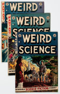 Golden Age (1938-1955):Science Fiction, Weird Science Canadian Edition Group of 4 (EC, 1952-53) Condition:Average VG+.... (Total: 4 Comic Books)