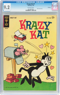 Krazy Kat #1 File Copy (Gold Key, 1964) CGC NM- 9.2 Off-white pages