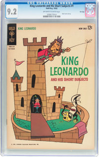 King Leonardo and His Short Subjects #1 File Copy (Gold Key, 1962) CGC NM- 9.2 Off-white to white pages