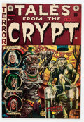 Golden Age (1938-1955):Horror, Tales From the Crypt #33 Canadian Edition (EC, 1952) Condition:FN....