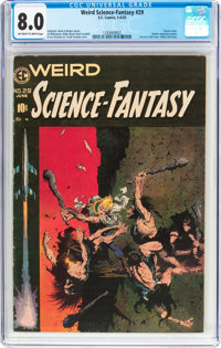 Weird Science-Fantasy #29 (EC, 1955) CGC VF 8.0 Off-white to white pages