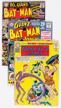 Batman-Related Group of 10 (DC, 1962-72) Condition: Average GD/VG.... (Total: 10 Comic Books)