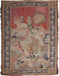 Decorative Arts, Continental:Other , A Pair of Continental Tapestries: Boar Hunt, 19th century.78 inches high x 58 inches wide (198.1 x 147.3 cm). ... (Total: 2Items)