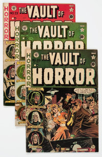 Vault of Horror Canadian Edition Group of 4 (EC, 1951-52) Condition: Average VG/FN.... (Total: 4 Comic Books)