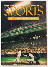 Sports Illustrated V1#1 (Time Inc., 1954) Condition: VG/FN