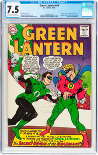 Green Lantern #40 (DC, 1965) CGC VF- 7.5 Off-white to white pages
