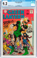 Silver Age (1956-1969):Superhero, Green Lantern #66 (DC, 1969) CGC NM- 9.2 Off-white to white pages....