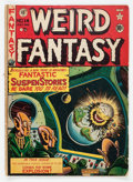 Golden Age (1938-1955):Science Fiction, Weird Fantasy #14 (#2) (EC, 1950) Condition: GD/VG....