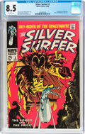 Silver Age (1956-1969):Superhero, The Silver Surfer #3 (Marvel, 1968) CGC VF+ 8.5 Off-white pages....