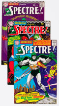 Silver Age (1956-1969):Miscellaneous, Showcase #60, 61, and 64 Spectre Group (DC, 1966) Condition: Average VG+.... (Total: 3 Comic Books)