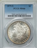 Morgan Dollars: , 1879-S $1 MS66 PCGS. PCGS Population: (7468/1628). NGC Census: (7231/2167). CDN: $240 Whsle. Bid for problem-free NGC/PCGS ...