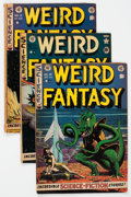 Golden Age (1938-1955):Science Fiction, Weird Fantasy #11, 13, and 15 Group (EC, 1952) Condition: AverageVG.... (Total: 3 Comic Books)