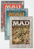 Magazines:Mad, MAD Group of 5 (EC, 1956-63) Condition: Average FN-.... (Total: 5 Comic Books)