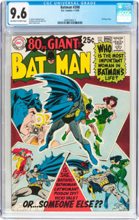 Batman #208 (DC, 1969) CGC NM+ 9.6 Off-white to white pages