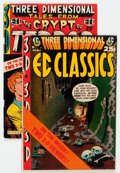 Golden Age (1938-1955):Horror, Three Dimensional EC Classics #1/Three Dimensional Tales from theCrypt #1 (EC, 1954) Condition: Average VG-.... (Total: 2 ComicBooks)