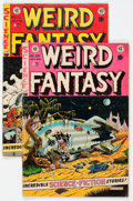 Golden Age (1938-1955):Science Fiction, Weird Fantasy #20 and 22 Group (EC, 1953) Condition: AverageVG/FN.... (Total: 2 Comic Books)