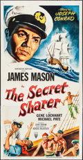 "Movie Posters:Adventure, The Secret Sharer (RKO, 1952). Three Sheet (41"" X 80""). Adventure....."